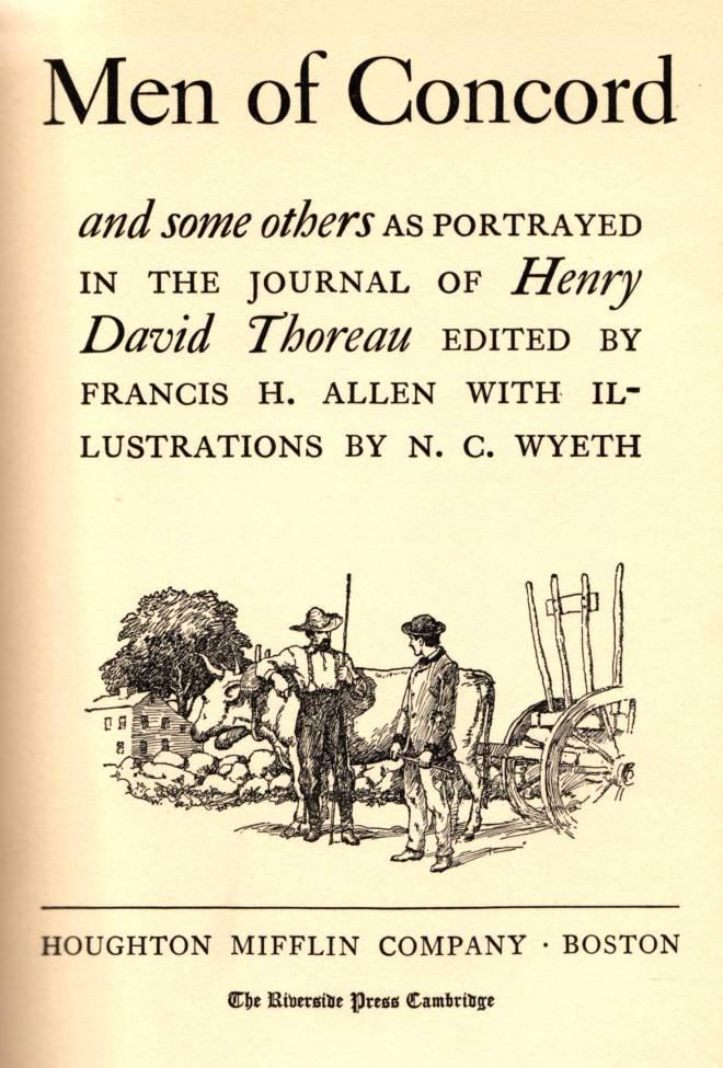 Thoreau-Concord