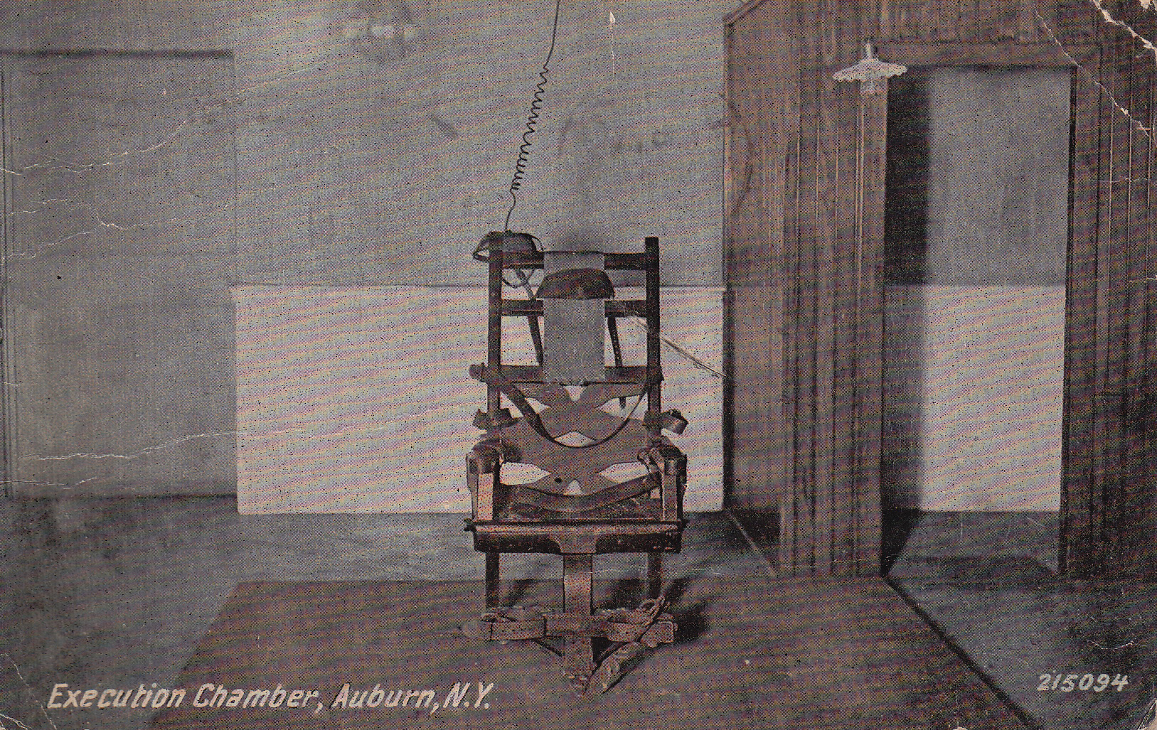 First electric chair victim - The