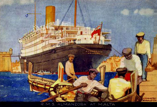 Business Companies In Malta Mail: The Royal Mail Steam Packet Company
