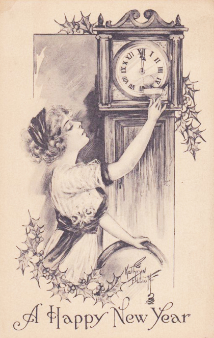 New Year Clock 2