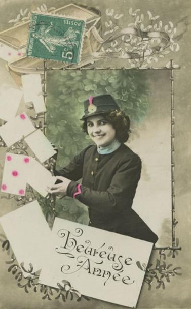 New Year Postal Flirt