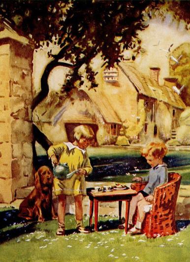 Tea Garden Dog