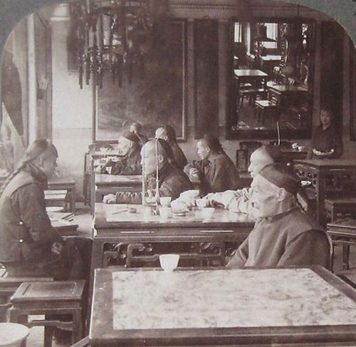 Tea House Stereoview