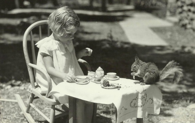 Tea with Squirrel