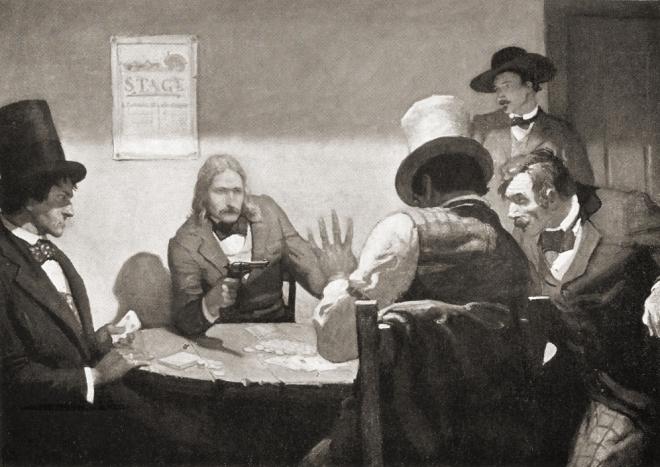 Buffalo Bill NC Wyeth I'm calling the hand
