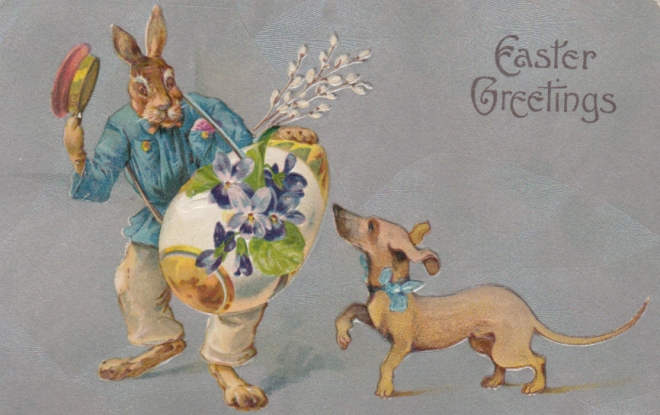 Easter Doxie 1910