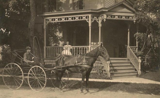 Mail O.D. Hammond, Cuba, NY 1907