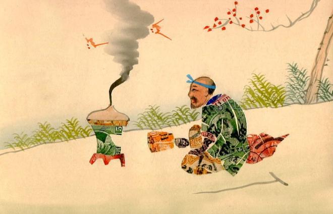 Incense Mail Art