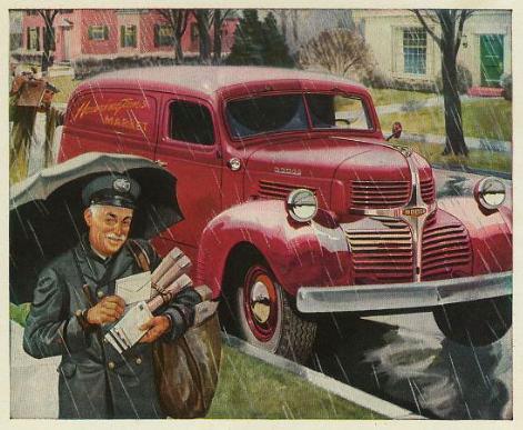 Postman 1947 Dodge Truck