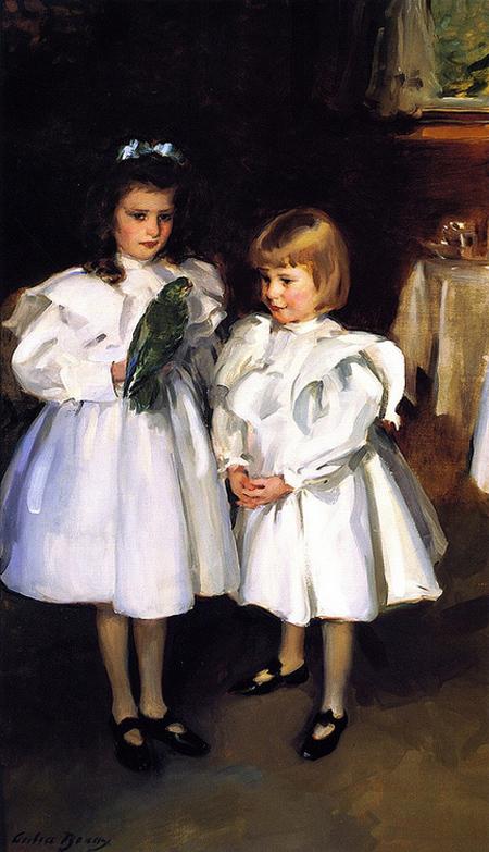 CB Gertrude and Elizabeth Henry