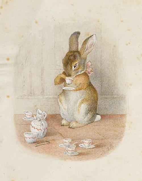 Tea Bunny Potter