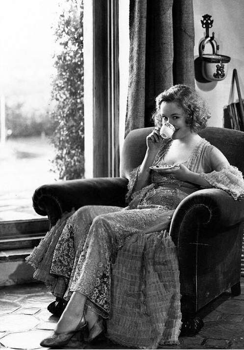 Tea Miriam Hopkins