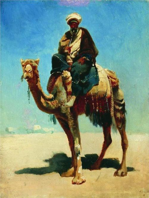 VV Arab on Camel