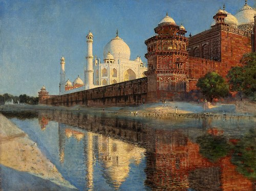VV Taj Mahal, Evening 1876