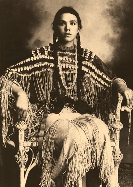 Gertrude Three Finger, Cheyenne by Wm E Irwin