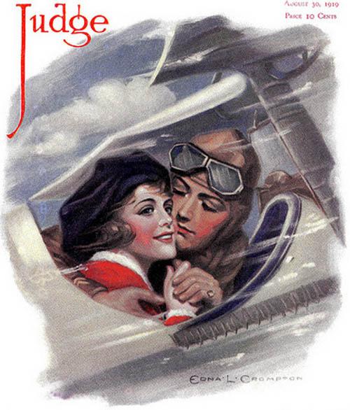 E Aviators Edna Crompton