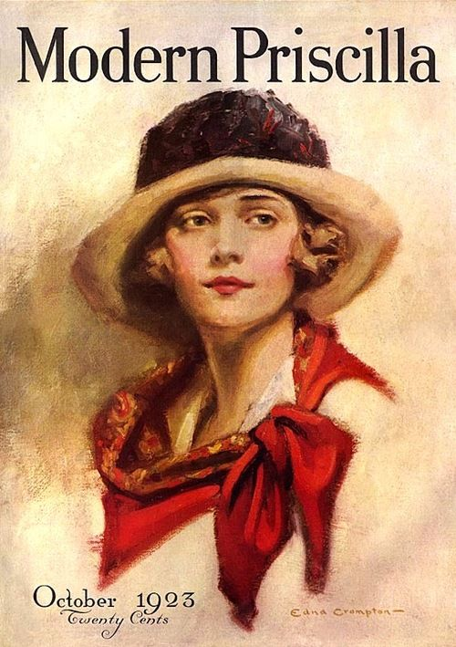 E Scarf Edna Crompton