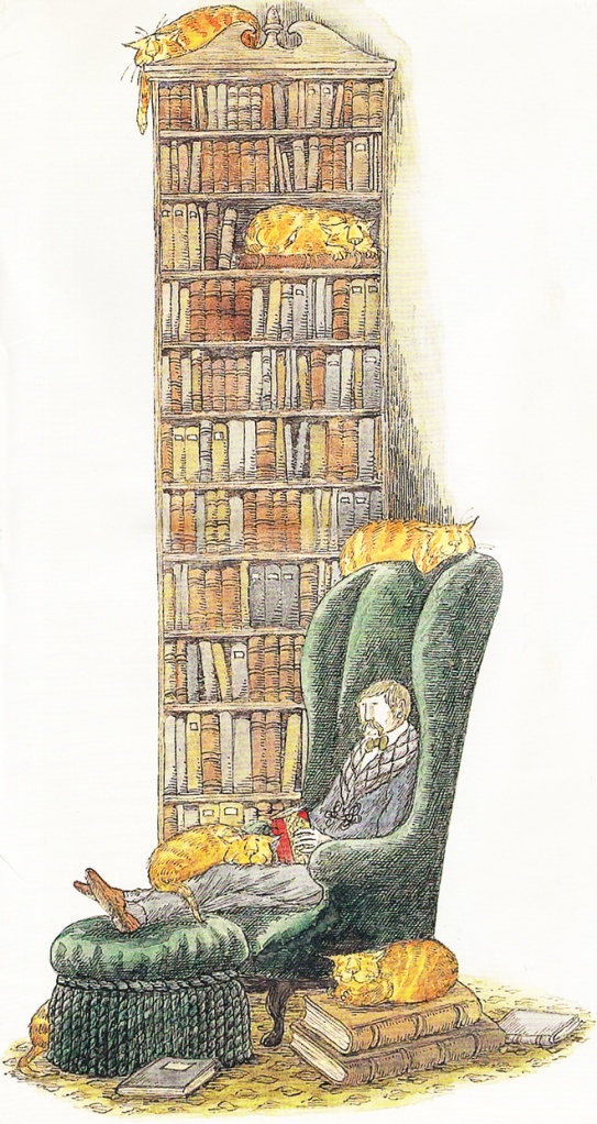Gorey-Library
