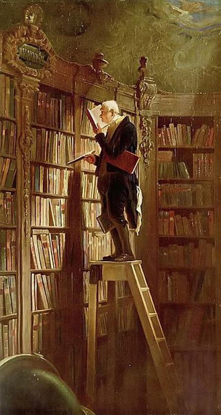 Carl Spitzweg Bookworm
