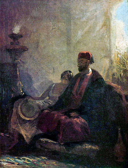 Carl Spitzweg In the Harem
