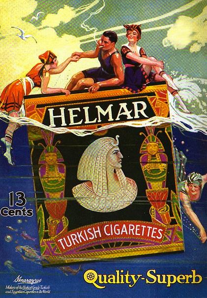 Helmar Cigarettes 1918