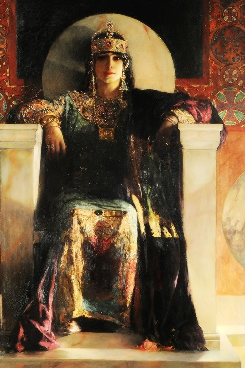 Empress Theodora Benjamin-Constant