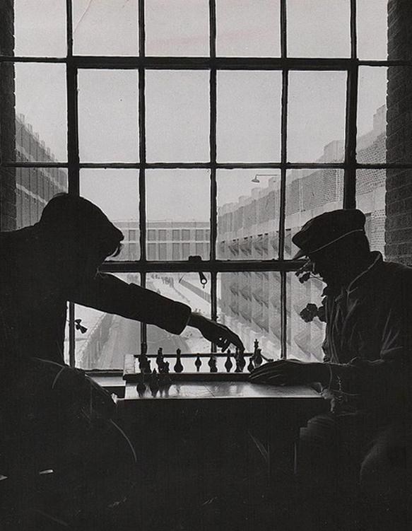 Chess Inmates Jackson Mich 1952