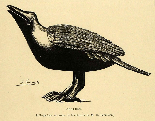Incense Crow