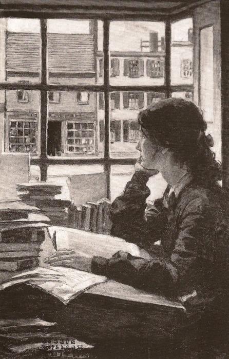 JWS Woman Reading by Window