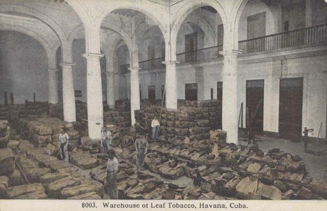Tobacco Warehouse Havana