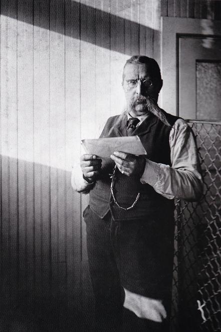Postal Clerk 1907