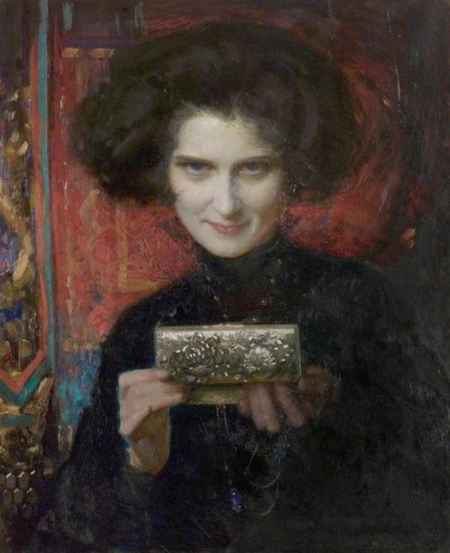 The Casket Noel Denholm Davis 1924