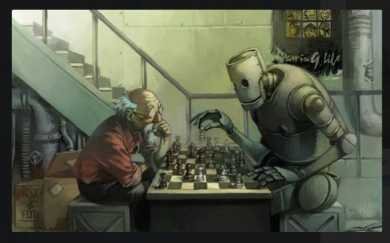 Chess with Robot Cuson