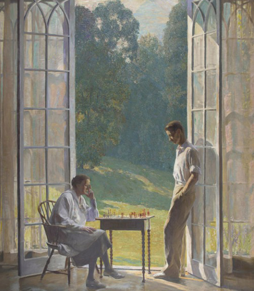 Daniel Garber Mother and Son 1933