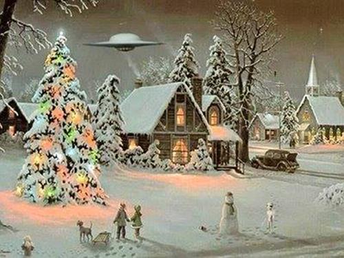 UFO Christmas