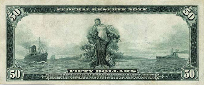 symbolism on American currency