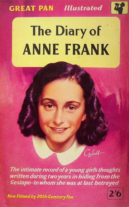 Heade Anne Frank