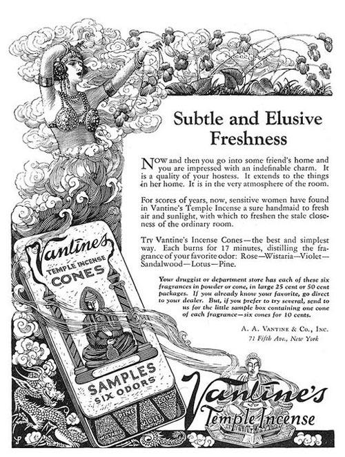 Vantines ad 1924