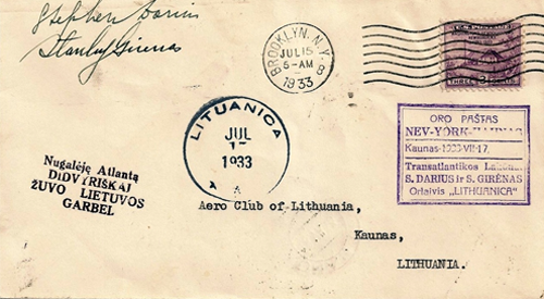 Air Mail lithuania