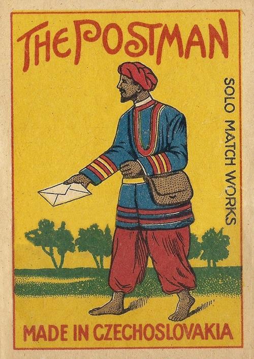 Postman Match Box