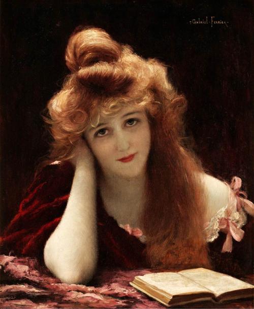 Woman Reading 11