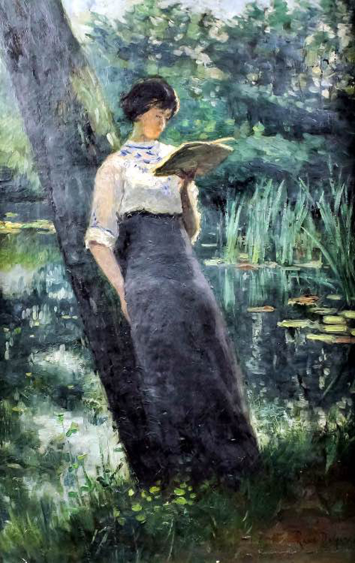 Woman Reading 13