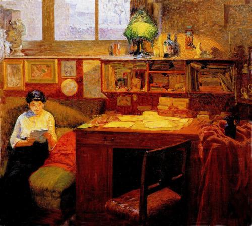 Woman Reading 14