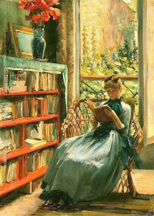 Woman Reading 15