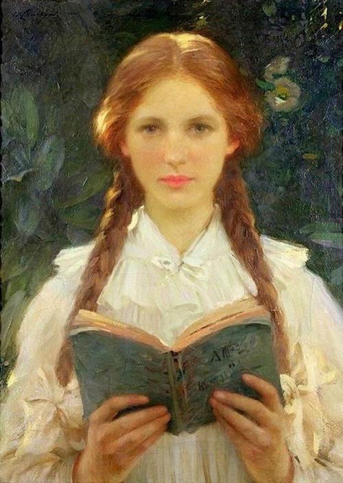 Woman Reading 16