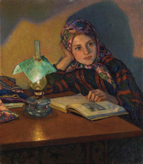 Woman Reading 6