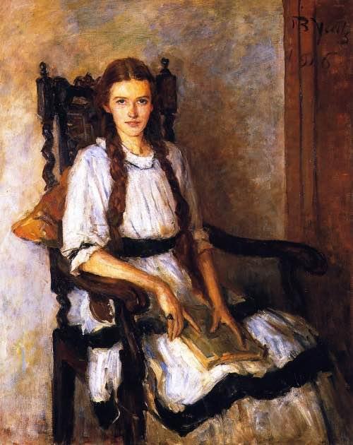 Woman Reading 9