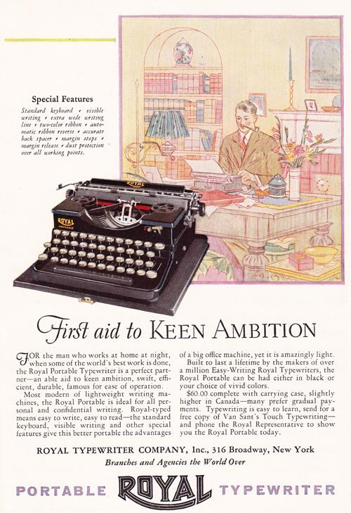 Keen Typewriter