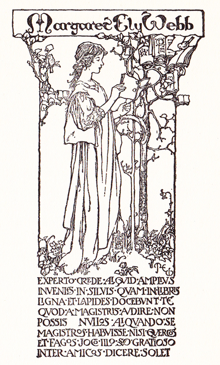 MEW Her Bookplate