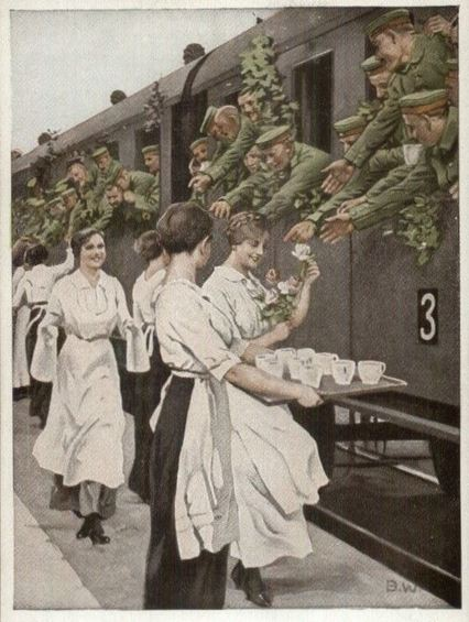Tea Train WWI Germany